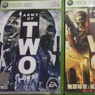 Xbox360 Army Of Two Series