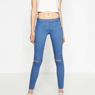 Zara high elasticity jegging