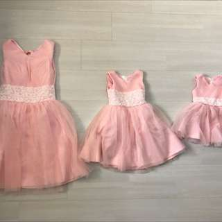 Mother And Daughter Dress Set