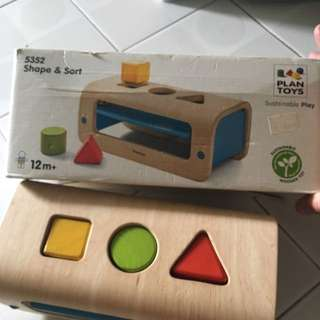Plan Toys Shape And Sort