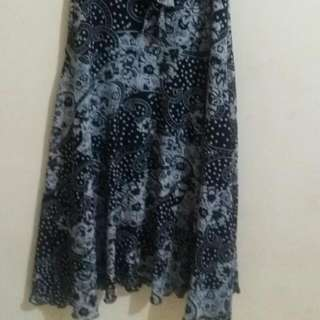 Dress Batik Bahan Elastis Fit to XL