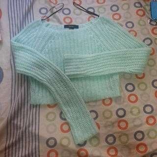 Repriced F21 Knitted Crop Top