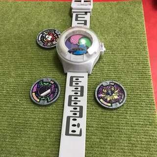 第一代妖怪手錶加送三個徽章