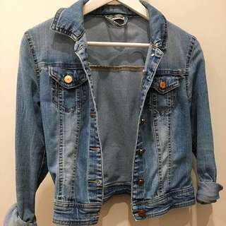 Noisy May Denim Jacket ASOS