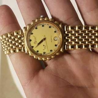 愛其華男用18K手錶