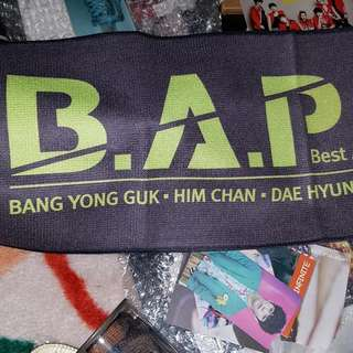 B.A.P Official Banner Towel
