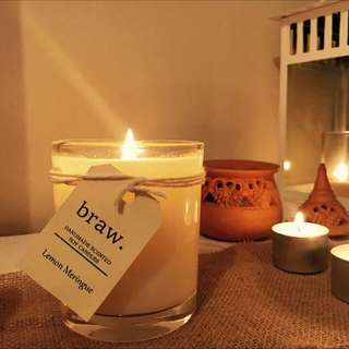 Lemon Meringue Handmade Scented Candle