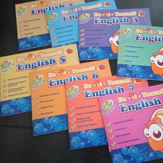 NEW SET English Book Set (8 in 1)
