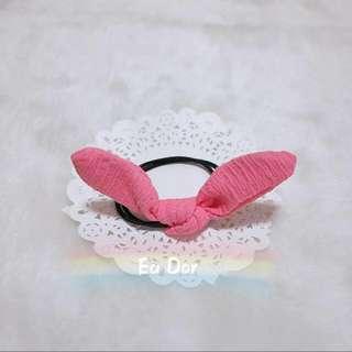 可愛 蝴蝶結髮飾