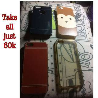 Softcase / Hardcase Iphone 5/5s