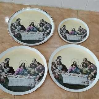 Christian Decor Plates