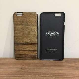 Ip6 Plus 木紋手機殼 高質感