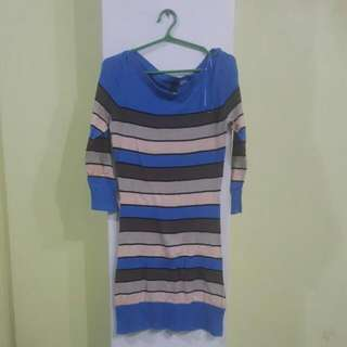 H&M Knitted Striped Top