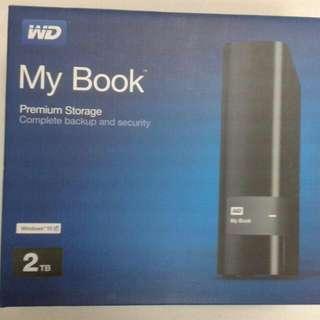 2TB External Hard Disk Drive