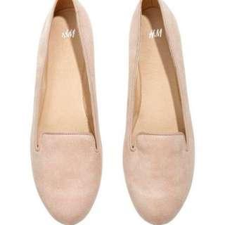 HnM Flatshoes Nude