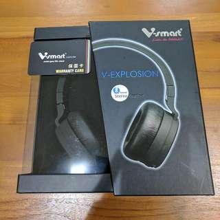 V-smart 藍芽耳罩式耳機VH301