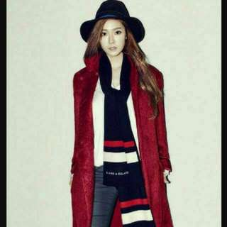 ÷ Blanc & Eclare ÷ Navy Scarf By Jessica Jung