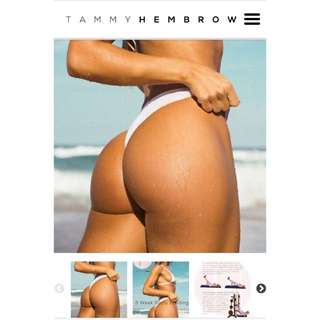 TAMMY HEMBROW BOOTY