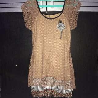SALE! Lace Short Dress