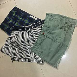 Preloved Branded Skirts/Shorts