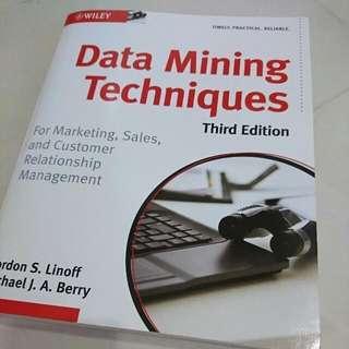 Data Mining Techniques Third Edition