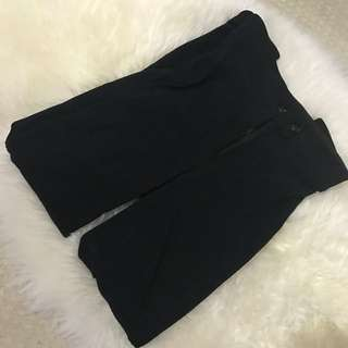 American Apparel Black Riding Pants
