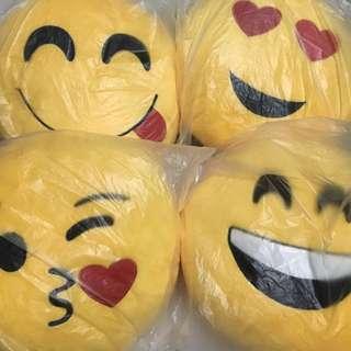 Emoji Round Travel Pillow