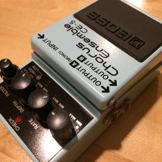 效果器 BOSS CE-5 (Effector Chorus CE5)