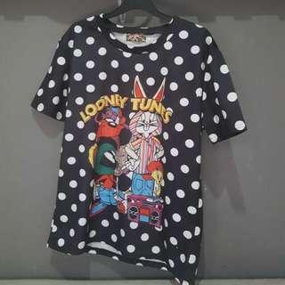 Loony Toons Oversized Neoprene Shirt