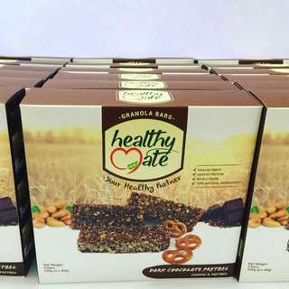 Healthy Mate Granola Bar Dark Chocolate Pretzel