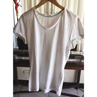 Plains & Prints Plain White Shirt
