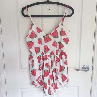 Watermelon Playsuit 🍉