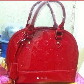 ‼️REPRICED‼️ red hand taco bag