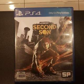 PS4 R3 Infamous Second Son