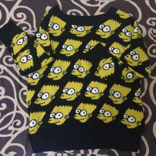 Sweater The Simpsons