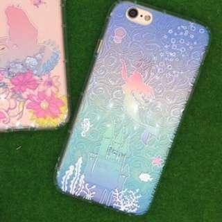 迪士尼 小美人魚 浮雕手機殼 I phone 6plus