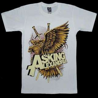 Asking Alexandria White Shirt