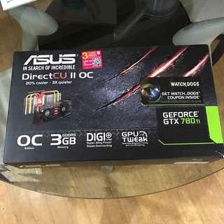 Asus Gtx 780ti 3GB
