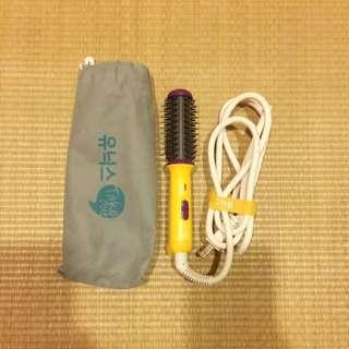 韓國電棒捲梳 附旅行袋 超小方便攜帶