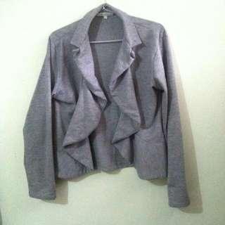 Grey Blazer by Details