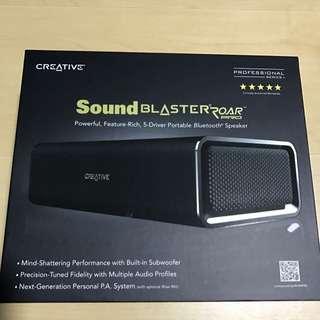 Creative Roar Pro SoundBlaster Bluetooth Speaker