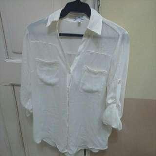 White long sleeves Express brand