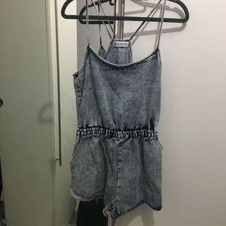 HVV Denim Romper