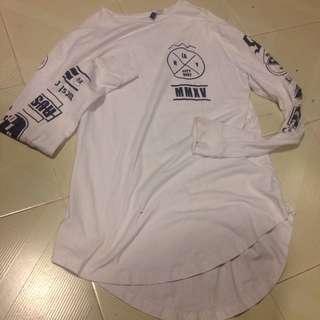 H&M Long White sleeve