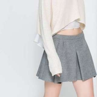 Zara Pleated Mini Skirt