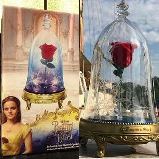 LIMITED EDITION Enchanted Rose Beauty And The Beast Speaker Bluetooth