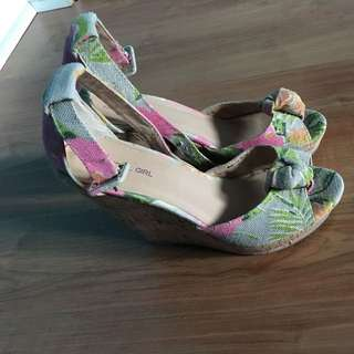 Material Girl Wedges (Size 7)