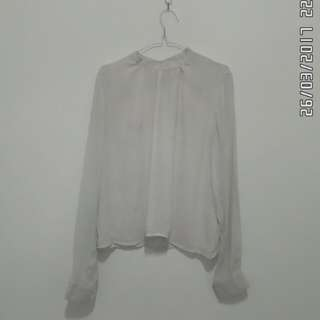 Stradivarius - white blouse
