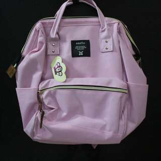 Tas Anello Backpack Large Soft Pink