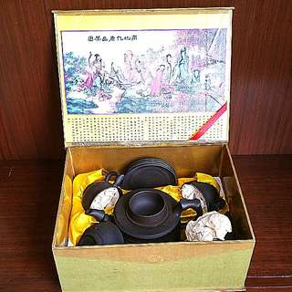 宜兴紫沙 Yi Xing Zi Sha Tea Set